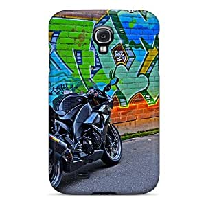 New Fashion Premium Tpu Case Cover For Galaxy S4 - Kawasaki Zx10r