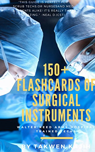 Vascular Scissors (Surgical Instrumentation Flashcard for Technologists Exam,For Medical Students,Operating Room Nurses. Illustrated Instrument Index Cards for General Surgery Ob/Gyn Cardio,Orthopedics,Vascular,)