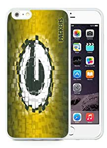 Hot Sale iPhone 6 Plus/iPhone 6S Plus 5.5 TPU Inch Case ,Green Bay Packers 20 White iPhone 6 Plus/iPhone 6S Plus Cover Unique And High Quality Designed Phone Case