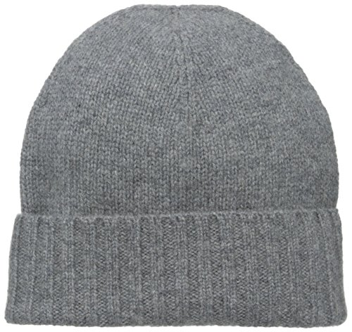 (Hat Attack Women's Cashmere Slouchy Hat, Charcoal, One Size)