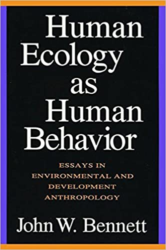 What Is A Thesis In An Essay Human Ecology As Human Behavior Essays In Environmental And Developmental  Anthropology Nd Edition English Literature Essay Structure also How To Write A Business Essay Human Ecology As Human Behavior Essays In Environmental And  Thesis Argumentative Essay