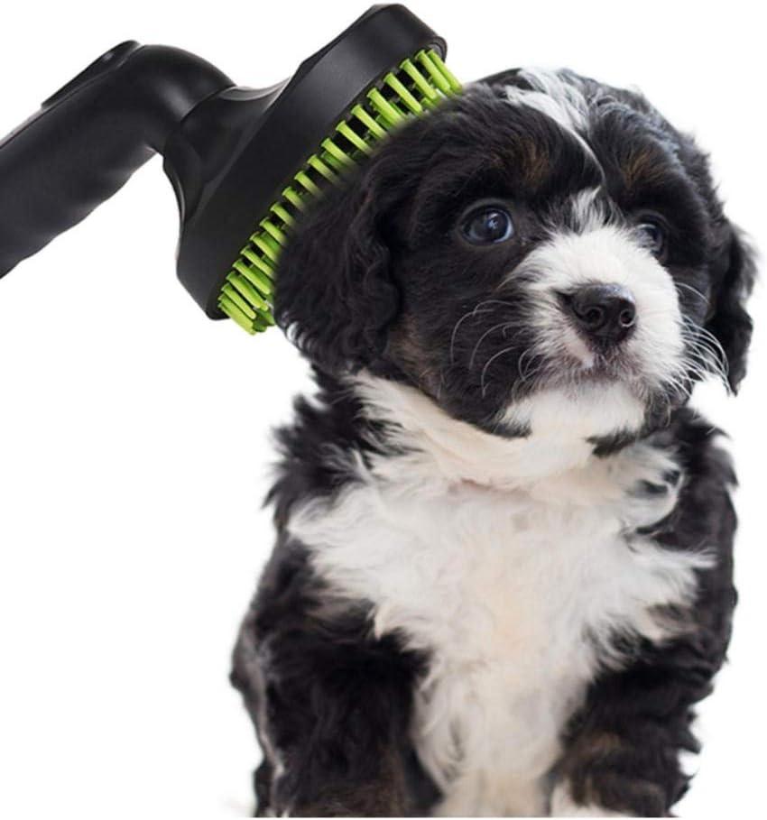 XTSZM Accesorios para Mascotas Herramienta de Limpieza Cepillo Loose Puppy Hair Cat Dog Fur Aspirador Boquilla: Amazon.es: Productos para mascotas