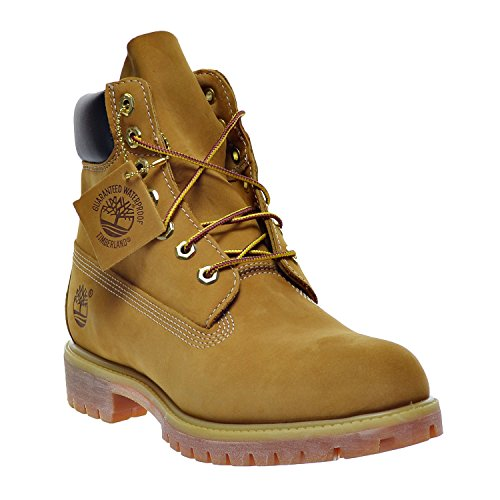 Image of the Timberland 6 Inch Premium Men's Boots Wheat Nubuck tb010061 (10.5 D(M) US)