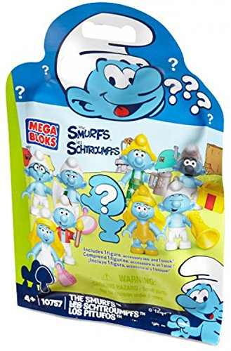 s Set #10757 Smurf Mystery Figure Pack ()