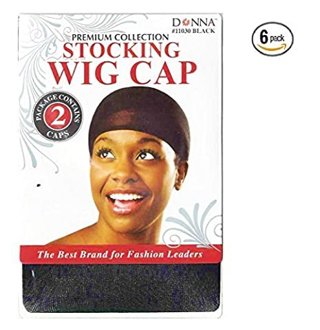 STOCKING WIG CAP BLACK Ships from US by BWH - Bwh Light Control
