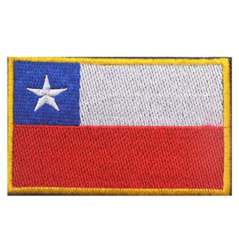QTao QT102l Multiple Country Flag Patch (Chile 5) ()