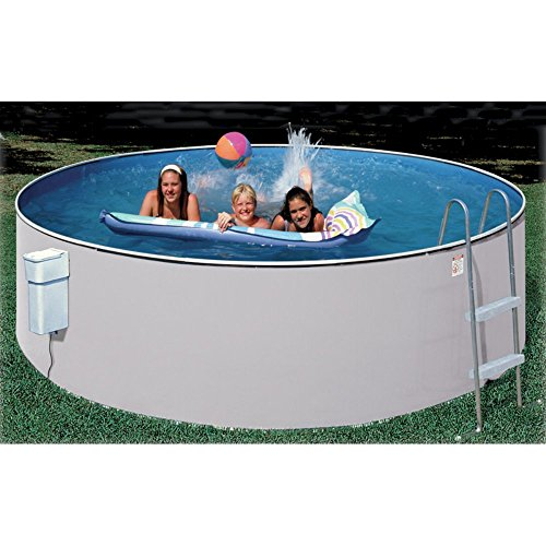 Splash Pools Above Ground Round Pool Package, 12-Feet by 36-Inch