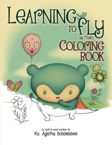 Price comparison product image Learning to Fly by Mebo: Coloring Book