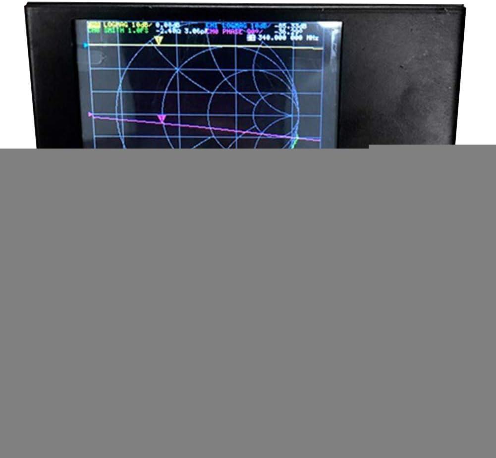 Analizador de red vectorial VHF antena prueba VNA pantalla digital profesional B recargable frecuencia portátil de onda de pie 50KHz-3GHz herramientas ...
