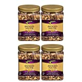 Planters Deluxe Mixed Nuts, Salted, 34 Ounce Jar from by Planters