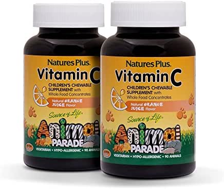 Vitamins & Supplements: Nature's Plus Vitamin C Children's Chewables