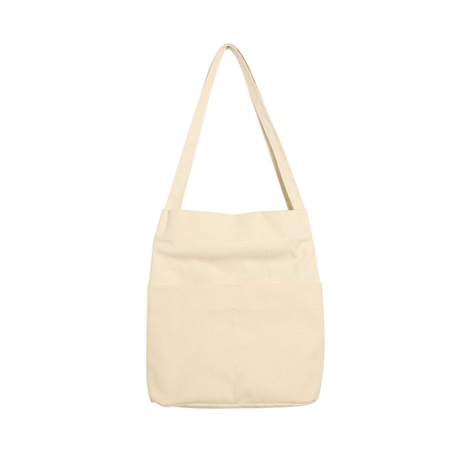 Road/&Cool Shoulder Bags Handbag Fashion Simple Womens Canvas Tote Bag Campus School Bag Hobo Commute Environmental Protection Shopping Leisure Beach Travel Tote 28/×12/×34cm