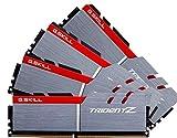 G.SKILL 16GB (4 x 4GB) TridentZ Series DDR4 PC4-30900 3866MHz For Intel Z170 Platform Desktop Memory Model F4-3866C18Q-16GTZ