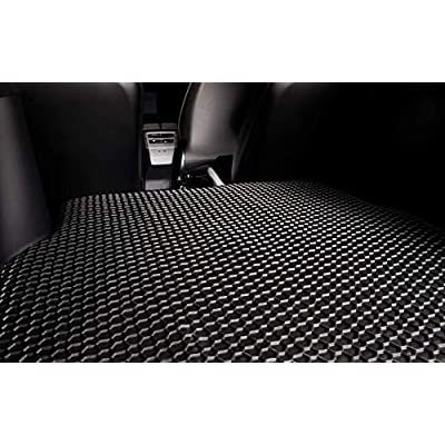 TOUGHPRO Frunk Mat Accessories + Trunk Mat Accessories Compatible with Tesla Model X (6 or 7 Seater) - 3rd Row Up - All Weather - Heavy Duty - (Made in USA) - Black Rubber - 2020, 2020, 2020, 2020: Automotive