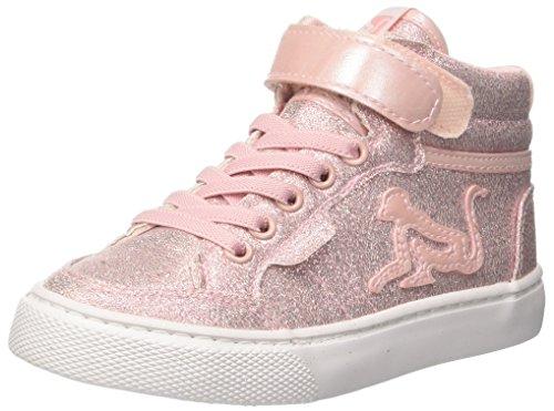 DrunknMunky Mädchen Boston Panet Hohe Sneaker Rosa (Pink)