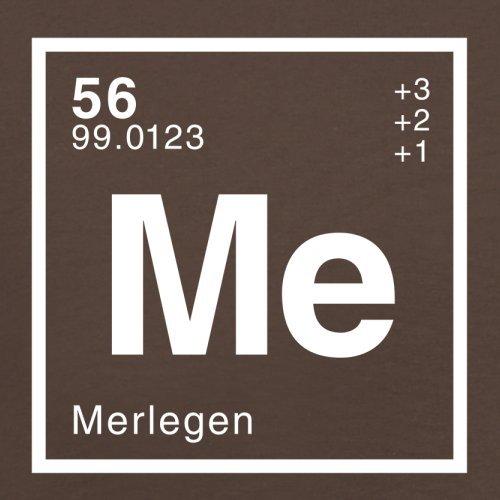 Merle Periodensystem - Herren T-Shirt - Schokobraun - M
