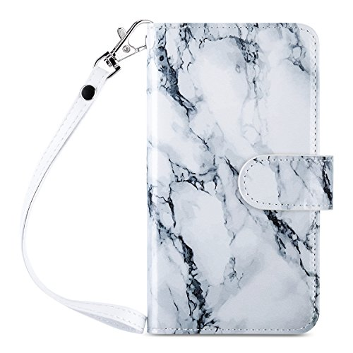 ULAK iPhone 6s Case, iPhone 6 Case, 6s Wallet Case, Marble Wallet iPhone 6S Leather Case with 9 Card Slots Flip for Apple iPhone 6s/6 4.7 Inch, Artistic-Marble Pattern