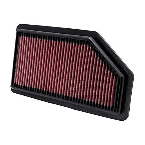 K&N engine air filter, washable and reusable:  2011-2019 Dodge/Chrysler/Lancia/Ram/Volkswagen V6 (Grand Caravan, Town & Country Van, Voyager, Cargo Van, Routan) 33-2462
