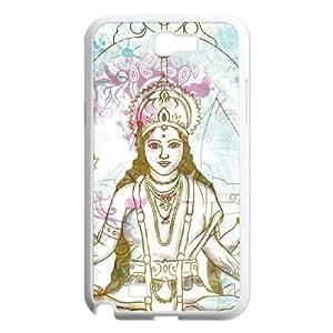 Samsung Galaxy N2 7100 Cell Phone Case White_Meditation Zttci