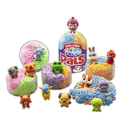 Educational Insights Playfoam Pals Pet Party 2-Pack | Non-Toxic, Never Dries Out | Sensory, Shaping Fun, Arts & Crafts For Kids | Surprise Collectible Toy | Perfect for Ages 5+: Toys & Games