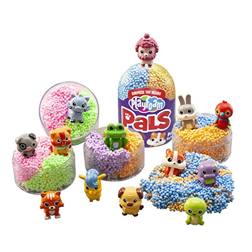 Educational Insights Playfoam Pals Pet Party 6-Pack: Surprise Egg with Squishy Playfoam