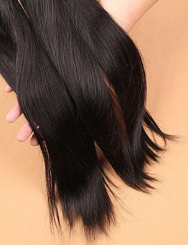 Part De 7a Faisceaux Avec Base Soie Cheveux Droites Jff Péruviens Transformés Vierges Fermeture Slove Non 3 amp; Note Humains La 22 20 SWCcwpfqv1