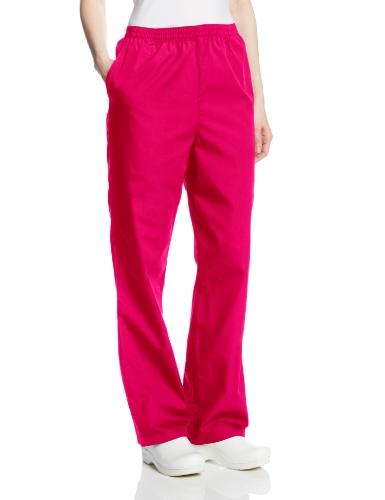 - Cherokee Women's Workwear Scrubs Pull-On Pant, Raspberry, Small