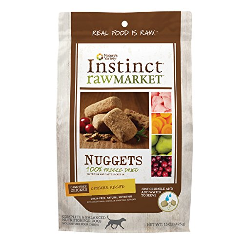 Instinct-Freeze-Dried-Raw-Market-Nuggets-Grain-Free-Chicken-Recipe-Natural-Dog-Food-by-Natures-Variety-15-oz-Bag