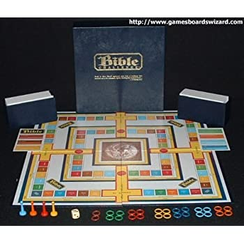 Bible Challenge Board Game, 1984 By James E. Barineau