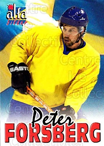 (CI) Peter Forsberg Hockey Card 2004-05 Swedish Alfabilder Alfa Stars (base) 21 Peter Forsberg