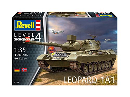 """Revell Revell03258 27.3cm """"leopard 1a1"""" Model Kit"""