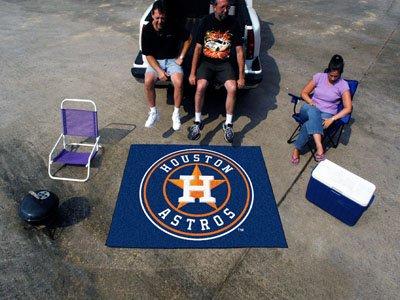 Baseball Astros Rug Mat Houston (Fan Mats Houston Astros Tailgater Rug, 60