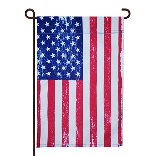 - Holiday Gear 4th of July/Labor Day/Memorial Day/Rustic Seasonal Garden Flag for Outdoors | Premium 12-inch x 18-inch Flag | Double-Sided, Polyester, Durable (Rustic)