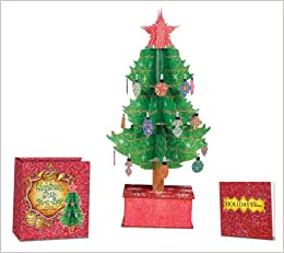 Paper Christmas Tree.Enchanted Christmas Tree In A Box Sam Ita Margaret Braun