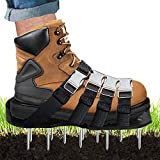 HAIHANGYUANDA Lawn Aerator Shoes, Garden Loose Soil Shoes Planing Shoes Metal Buckle for All Shoes or Boots