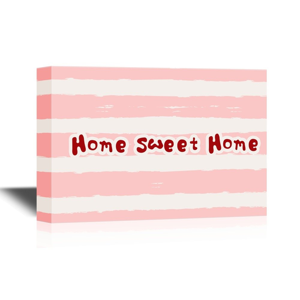Print Art Cute Home Sweet Home Wall Decor Quotes Ation Canvas Art