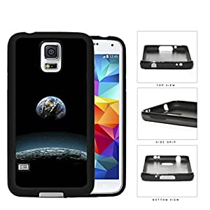 Earth Aerial View From The Moon Rubber Silicone TPU Cell Phone Case Samsung Galaxy S5 SM-G900