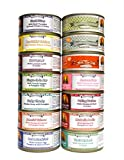 Weruva Dog Food Variety Box – All 14 Flavors – 5.5 Ounces Each (14 Cans – 1 of Each Flavor)