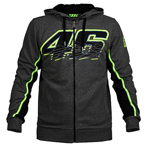 Valentino Rossi VR46 F1 Racing Fleece Hooded Sweatshirt For Mens