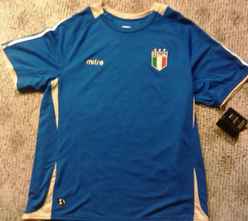 Mitre Team Italy World Cup Futbol Soccer Jersey L-large (Mitre Cup)