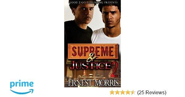 Amazon Supreme And Justice 2 9781943686490 Ernest Morris Books