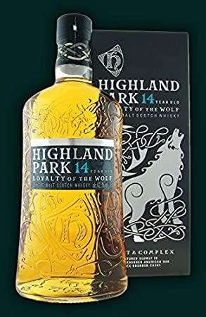 Highland Park Highland Park 14 Years Old LOYALTY OF THE WOLF Single Malt Scotch Whisky 42,3% Vol. 1l in Giftbox - 1000 ml
