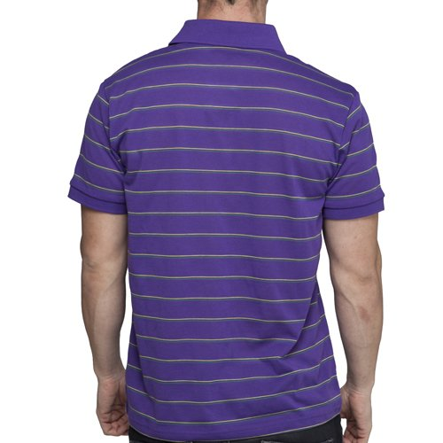 Herren Puma Lifestyle Purple Polo T-Shirt