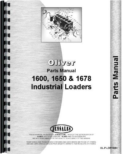 Oliver 1678 Loader Attachment Parts Manual