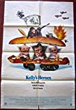 KELLYS HEROES - ORIGINAL 1970 ONE SHEET POSTER - COOL CLINT EASTWOOD CLASSIC