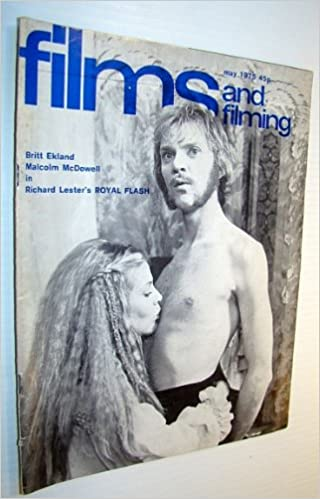 Films And Filming Magazine May 1975 Cover Photo Of Britt