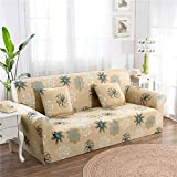 RUGAI-UE Sofa Slipcover sofa cover tight fitted elastic gasket cover three upholstered sofa full four living room,Four seater sofa 235-300cm,Fangfei time meter
