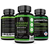 Best L-Theanine 200mg Supplement - Caffeine and L