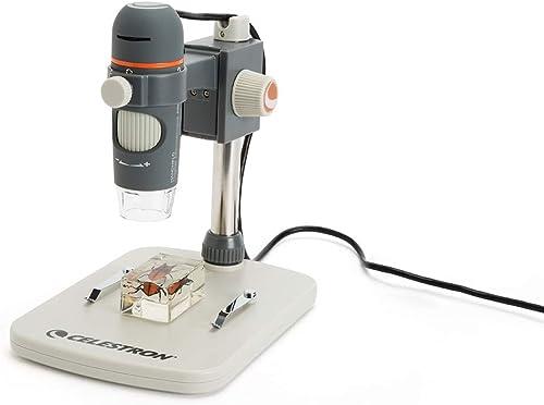 Celestron 5MP Digital Handheld 20-200x USB Microscope