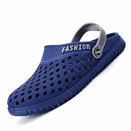 verano sandalias Chicos juvenil zapato Agujero zapato sandalias playa zapato estudiante Sandalias tendencia verano ,azul,US=8.5,UK=8,EU=42,CN=43